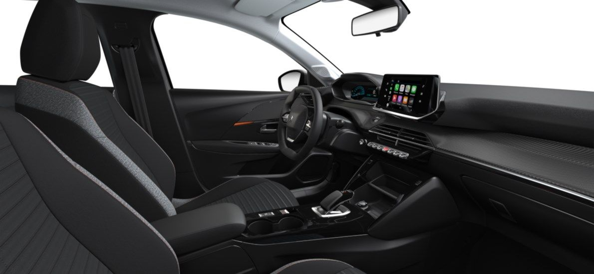 Nieuw Peugeot New 208 Berline 5 portes Active Pack Electrique e- AUTOMATIQUE A REDUCT Gris Artense (M0F4) 11