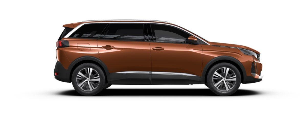 Nouveau Peugeot 5008 SUV Allure Pack DV5RC/UE63 1.5L DIES EAT8 Metallic Copper (M0LG) 4