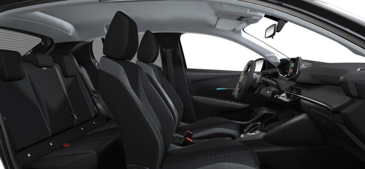 Nieuw Peugeot New 208 Berline 5 portes Active Pack 1.2 PureTech 100ch EAT8 Gris Platinium (M0VL) 12