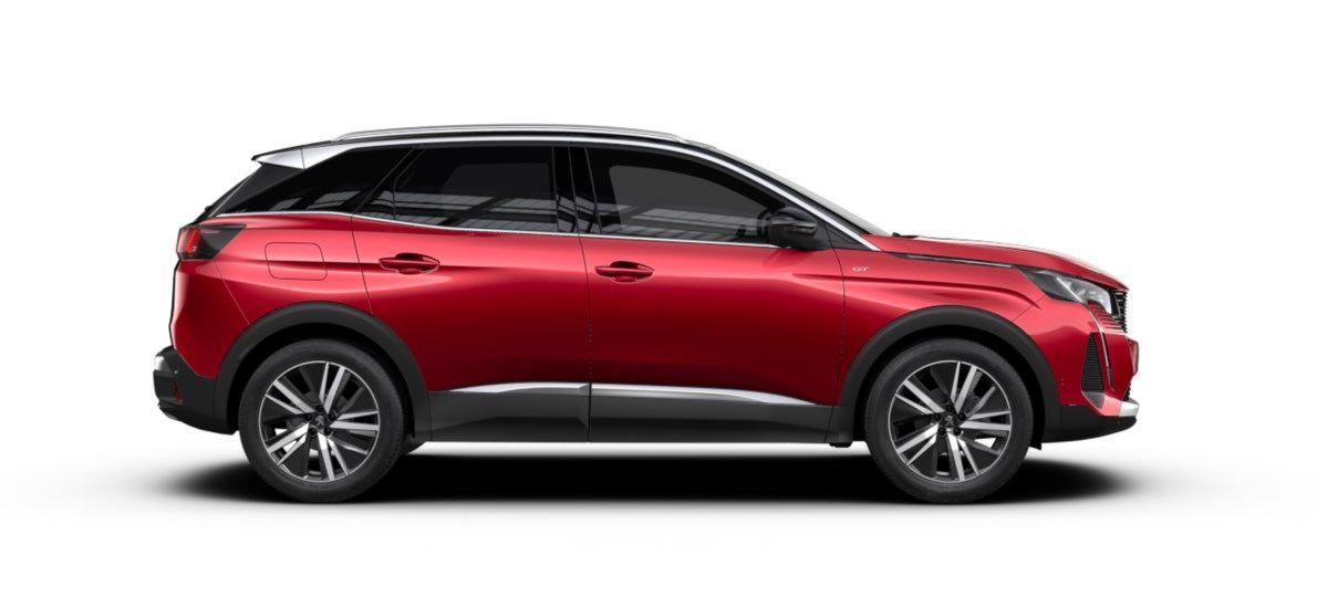 Nieuw Peugeot 3008 SUV GT Pack 1.2 PureTech 130 ch ?6.3 EAT8 Rouge Ultimate (M5F3) 4