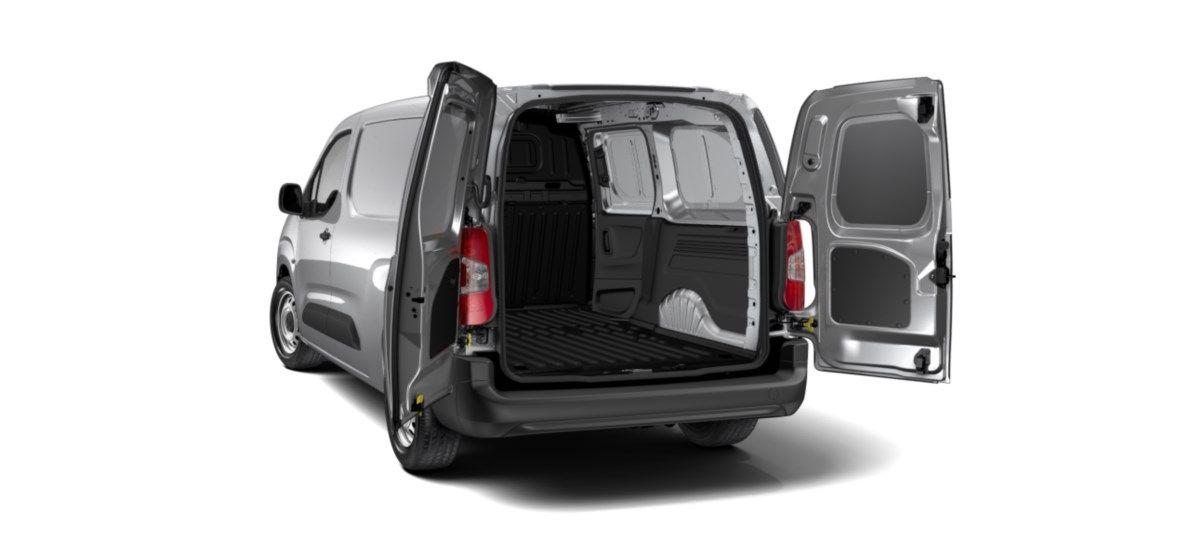 Nieuw Peugeot Partner Long Heavy Premium 1.5 BlueHDi 130ch S&S S&S Manuelle 6 vitesses Gris Platinium (M0VL) 4