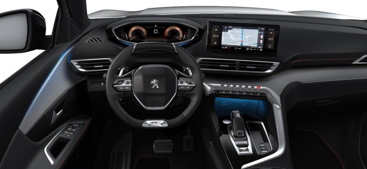 New Peugeot 3008 SUV GT 1.5 BlueHDi 130 ch EAT8 Blanc Nacré (M6N9) 10