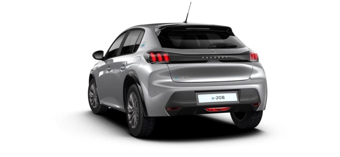 Nieuw Peugeot New 208 Berline 5 portes Active Pack Electrique e- AUTOMATIQUE A REDUCT Gris Artense (M0F4) 5