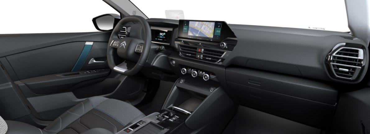 Nieuw Citroen New C4 BERLINE 5 PORTES HAUTE MOYENNE MEL ZAE BATTERIE S AUTOMATIQUE A REDUCT Gris Platinium (M0VL) 11
