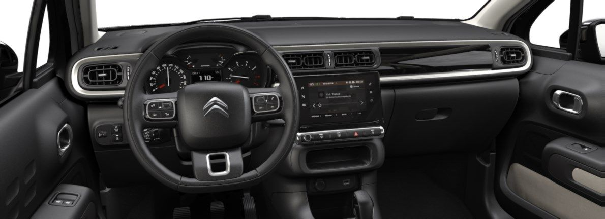 Nieuw Citroen C3 5 portes Feel. 1.2 PureTech 82 S&S BVM S&S Silky Grey (M0EU) 10
