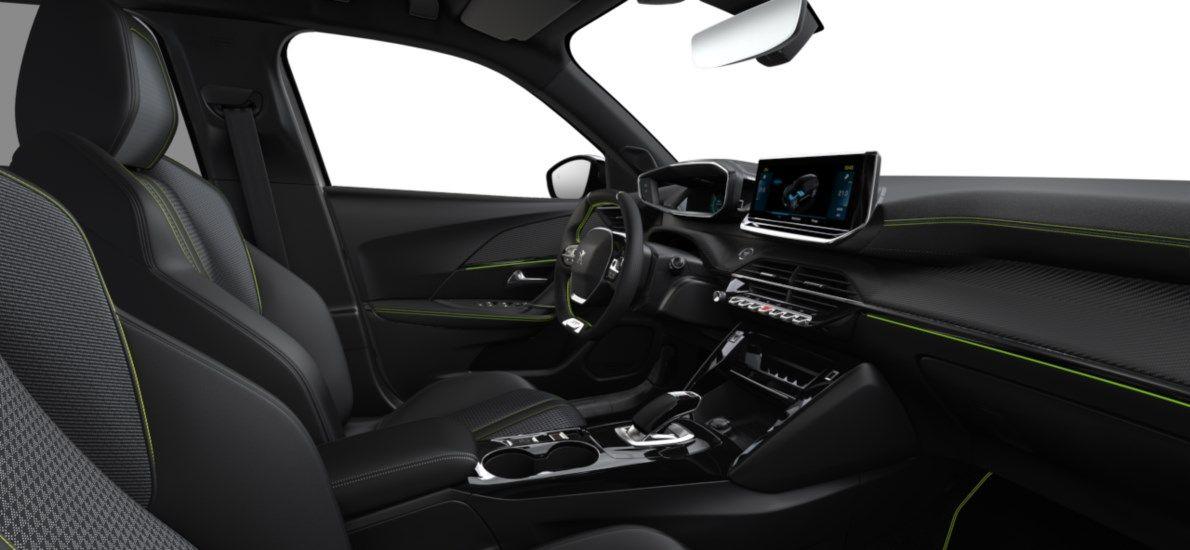 Nieuw Peugeot New 2008 SUV GT Electrique e- AUTOMATIQUE A REDUCT Blanc Nacré (M6N9) 11
