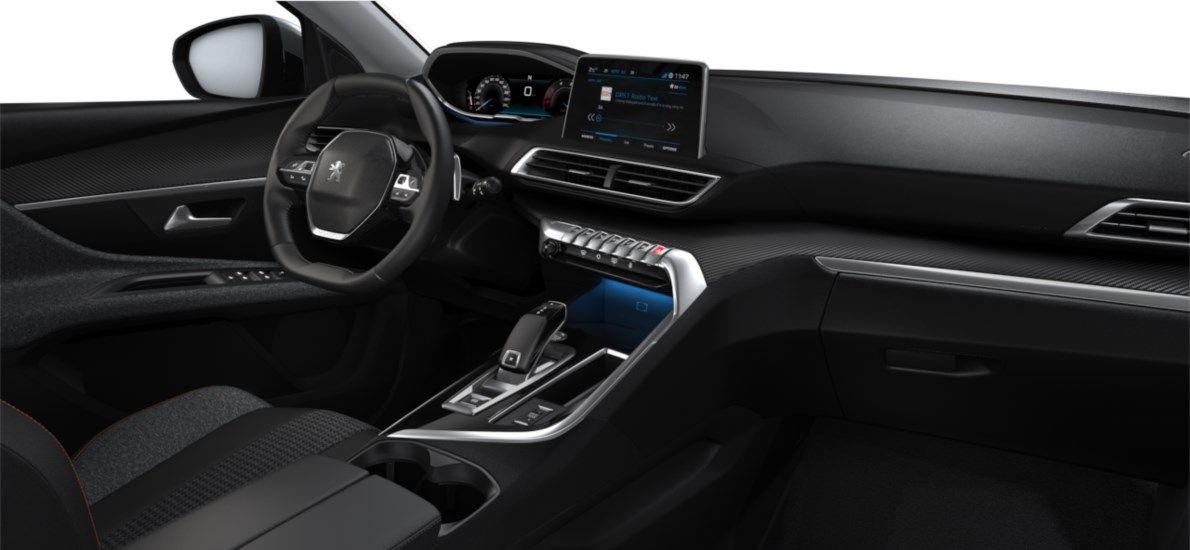 Nieuw Peugeot 5008 SUV Active Pack DV5RC/UE63 1.5L DIES EAT8 Gris Artense (M0F4) 11
