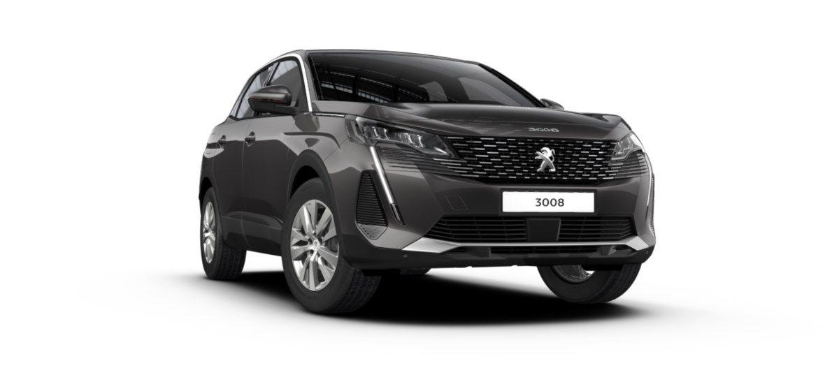 Nieuw Peugeot 3008 SUV Active Pack 1.5 BlueHDi 130 ch EAT8 Gris Platinium (M0VL) 6