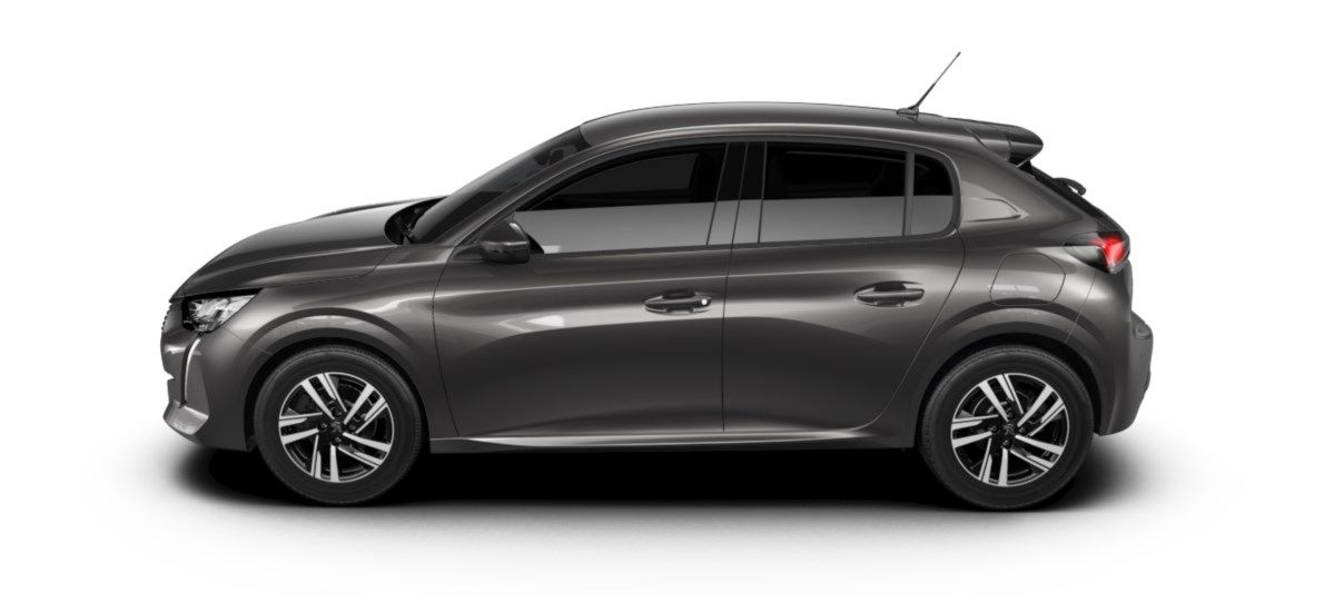 Nieuw Peugeot New 208 Berline 5 portes Allure Pack 1.2 PureTech 100ch S&S Manuelle 6 vitesses Gris Platinium (M0VL) 3