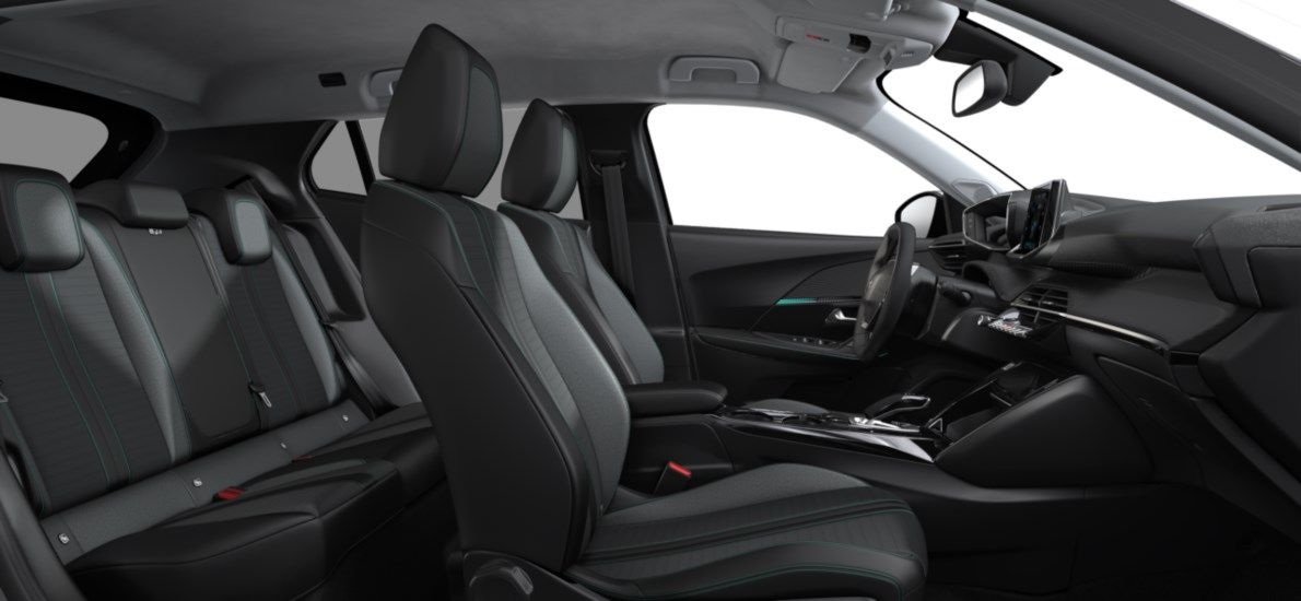 Nieuw Peugeot New 2008 SUV Allure Pack Electrique e- AUTOMATIQUE A REDUCT Gris Artense (M0F4) 12