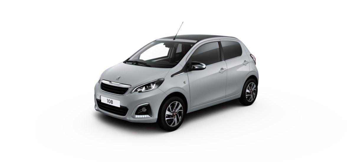 Nieuw Peugeot 108 Berline 5 portes Allure_ 1.0 VTi 72 ch BVM S&S Gris Carlinite (M09A) 5