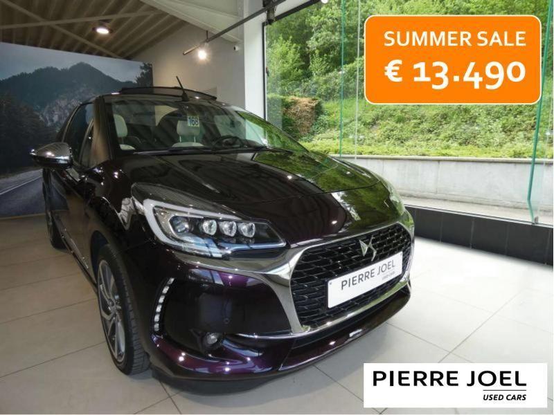 Occasie ds automobiles DS 3 Cabrio SPORT AUTO Burgundy (BURGUNDY) 1