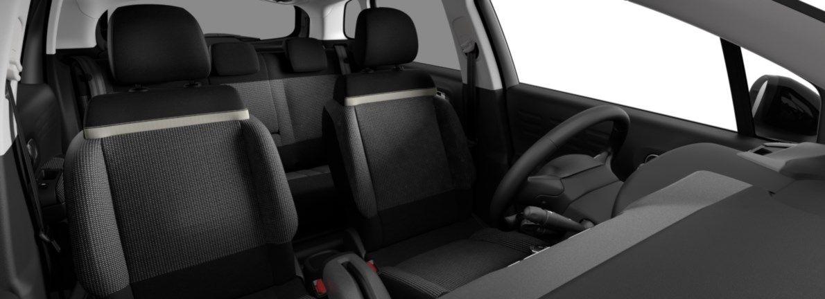 Nieuw Citroen SUV C3 Aircross BERLINE FAMILIALE SUPERIEURE BASSE EB2ADTS/EU63 1200 3 EAT6 Gris Platinium (M0VL) 12