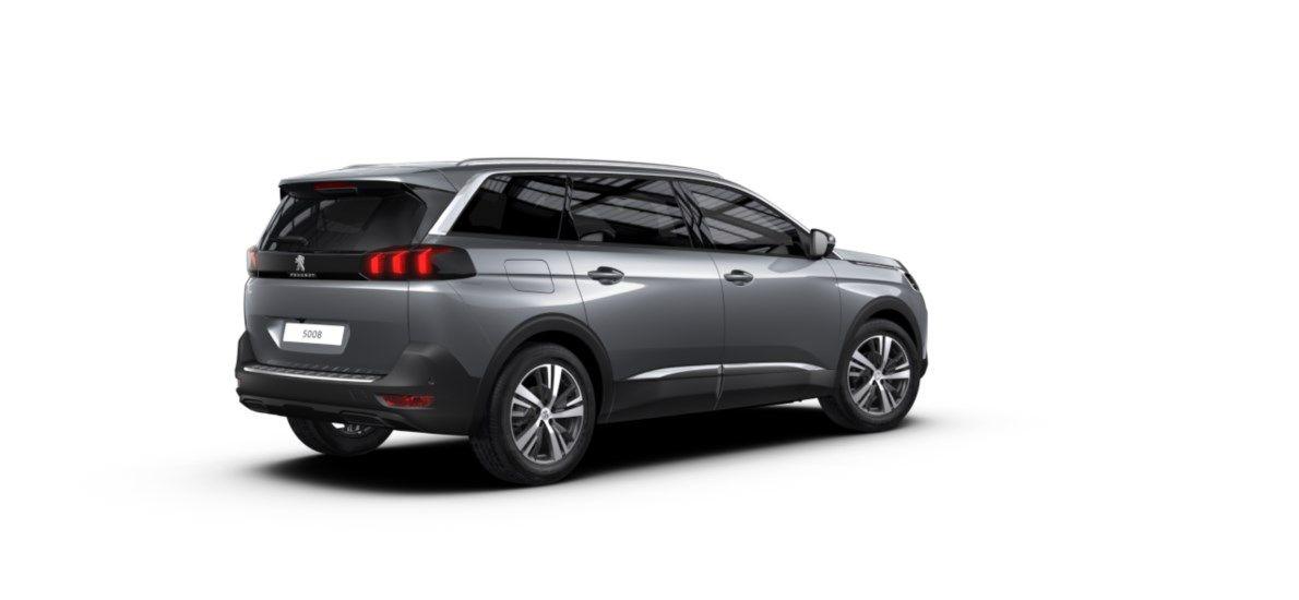 Nieuw Peugeot 5008 SUV Allure Pack DV5RC/UE63 1.5L DIES S&S Manuelle 6 vitesses Gris Artense (M0F4) 2