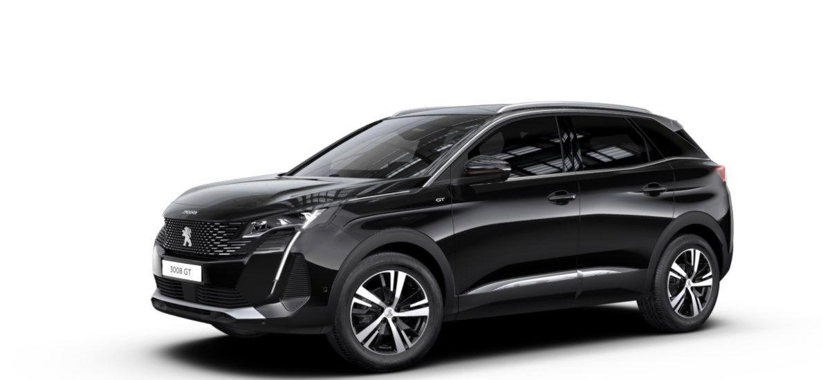 Nieuw Peugeot 3008 SUV GT 1.5 BlueHDi 130 ch EAT8 Noir Perla Nera (M09V) 1