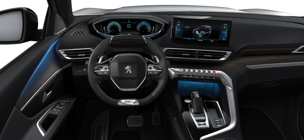 Nieuw Peugeot 3008 SUV GT Pack Hybride Hybrid 225 ch 4X2 AUTOMATIQUE 8 RA Blanc Nacré (M6N9) 10