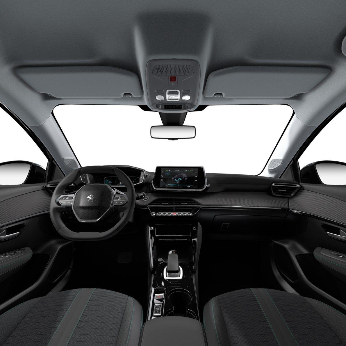 Nieuw Peugeot New 208 Berline 5 portes Allure Pack Electrique e- AUTOMATIQUE A REDUCT Noir Perla Nera (M09V) 7