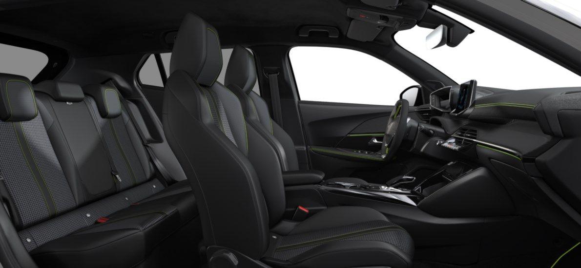 Nieuw Peugeot New 2008 SUV GT Electrique e- AUTOMATIQUE A REDUCT Blanc Nacré (M6N9) 12