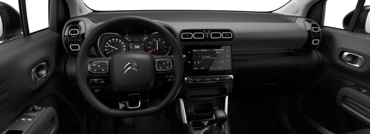 Nieuw Citroen SUV C3 Aircross BERLINE FAMILIALE MOYENNE HAUTE 1.2 PureTech 110 S&S S&S Manuelle 6 vitesses Gris Artense (M0F4) 10