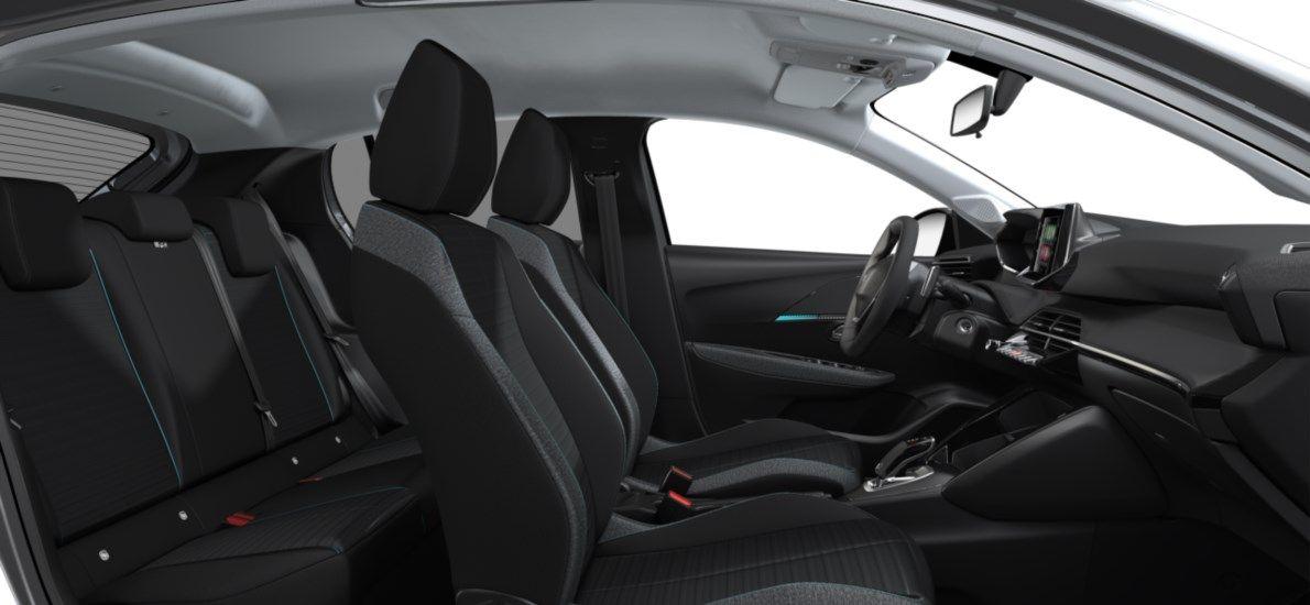 Nieuw Peugeot New 208 Berline 5 portes Active Pack 1.2 PureTech 100ch EAT8 Gris Artense (M0F4) 12