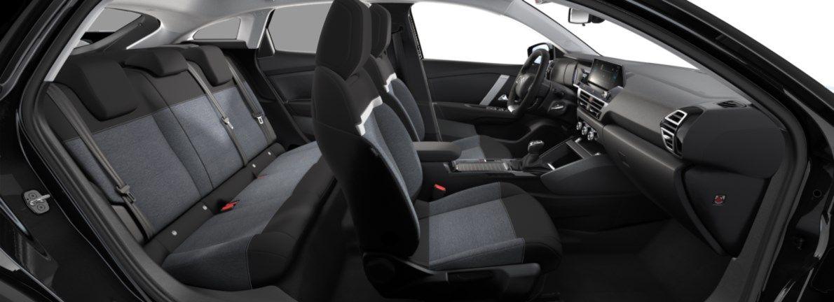 Nieuw Citroen New C4 BERLINE 5 PORTES MOYENNE MOYENNE EB2ADTS/EU63 1200 3 S&S Manuelle 6 vitesses Noir Obsidien (M0XL) 12