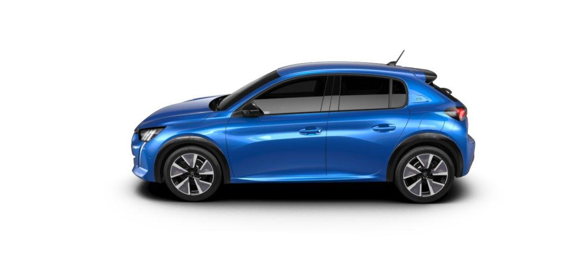 Nieuw Peugeot New 208 Berline 5 portes GT Pack Electrique e- AUTOMATIQUE A REDUCT Bleu Vertigo (M6SM) 3