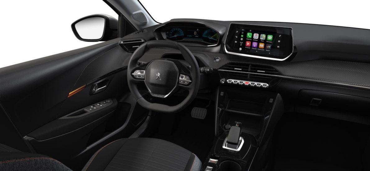 Nieuw Peugeot New 208 Berline 5 portes Active Pack Electrique e- AUTOMATIQUE A REDUCT Gris Artense (M0F4) 10