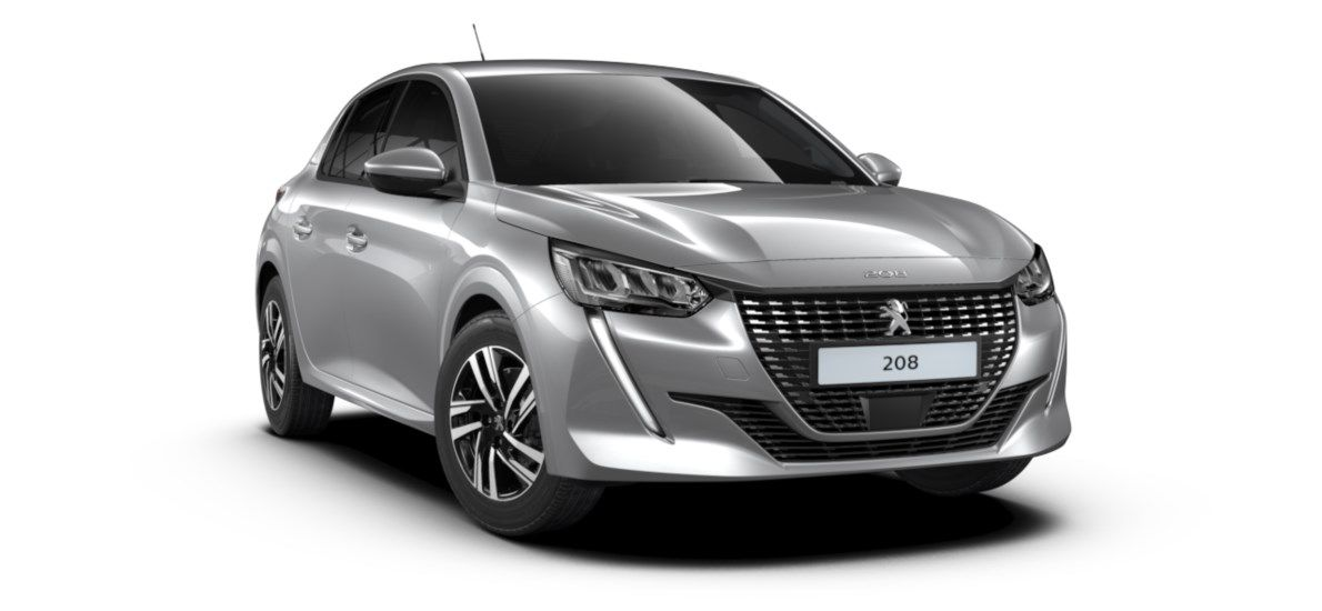 Nieuw Peugeot New 208 Berline 5 portes Allure Pack 1.2 PureTech 100ch EAT8 Gris Artense (M0F4) 7