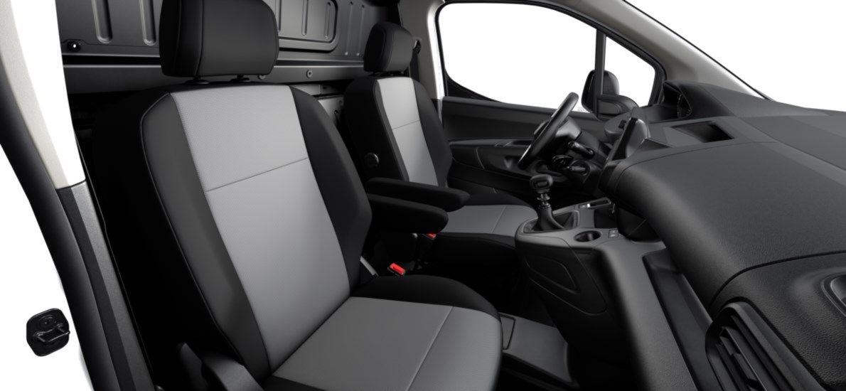 Nieuw Peugeot Partner Long Heavy Premium 1.5 BlueHDi 130ch S&S S&S Manuelle 6 vitesses Blanc Banquise (P0WP) 12