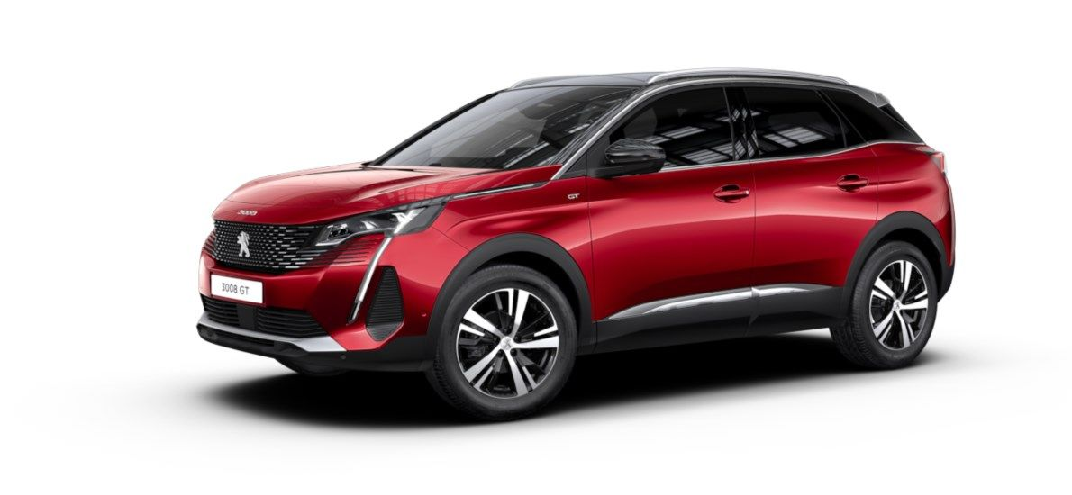 Nieuw Peugeot 3008 SUV GT 1.5 BlueHDi 130 ch EAT8 Rouge Ultimate (M5F3) 1