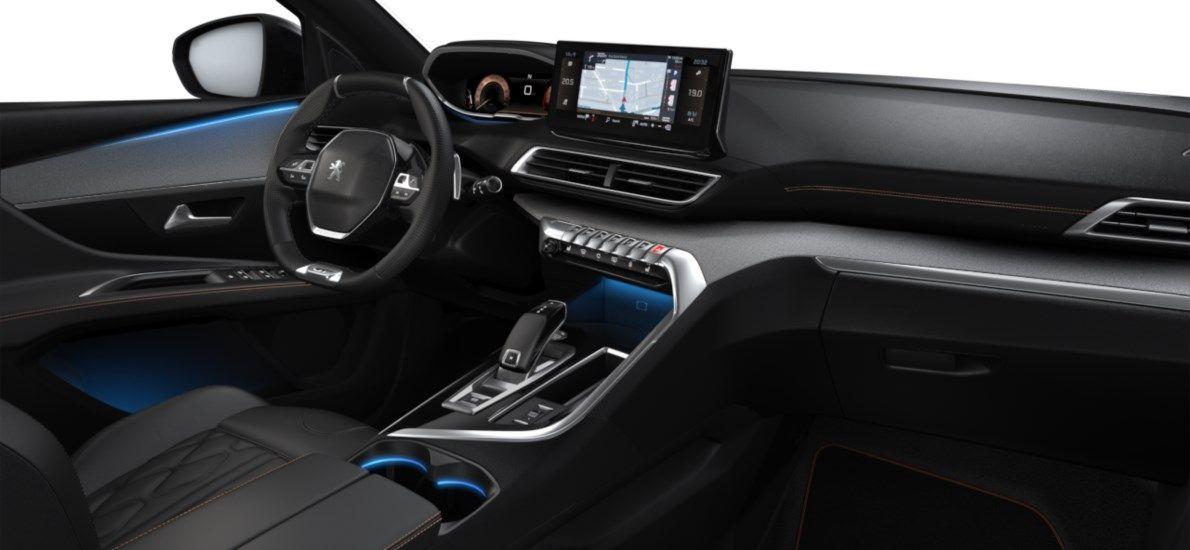 New Peugeot 3008 SUV GT 1.5 BlueHDi 130 ch EAT8 Blanc Nacré (M6N9) 11