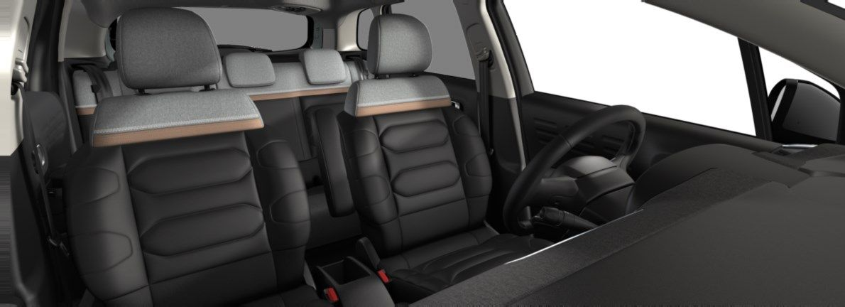 Nieuw Citroen SUV C3 Aircross BERLINE FAMILIALE MOYENNE HAUTE 1.2 PureTech 110 S&S S&S Manuelle 6 vitesses Kaki Grey (M0EM) 12