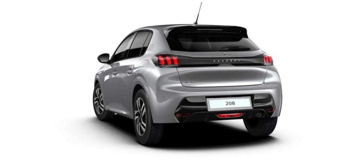 Nieuw Peugeot New 208 Berline 5 portes Allure Pack 1.2 PureTech 100ch EAT8 Gris Artense (M0F4) 5