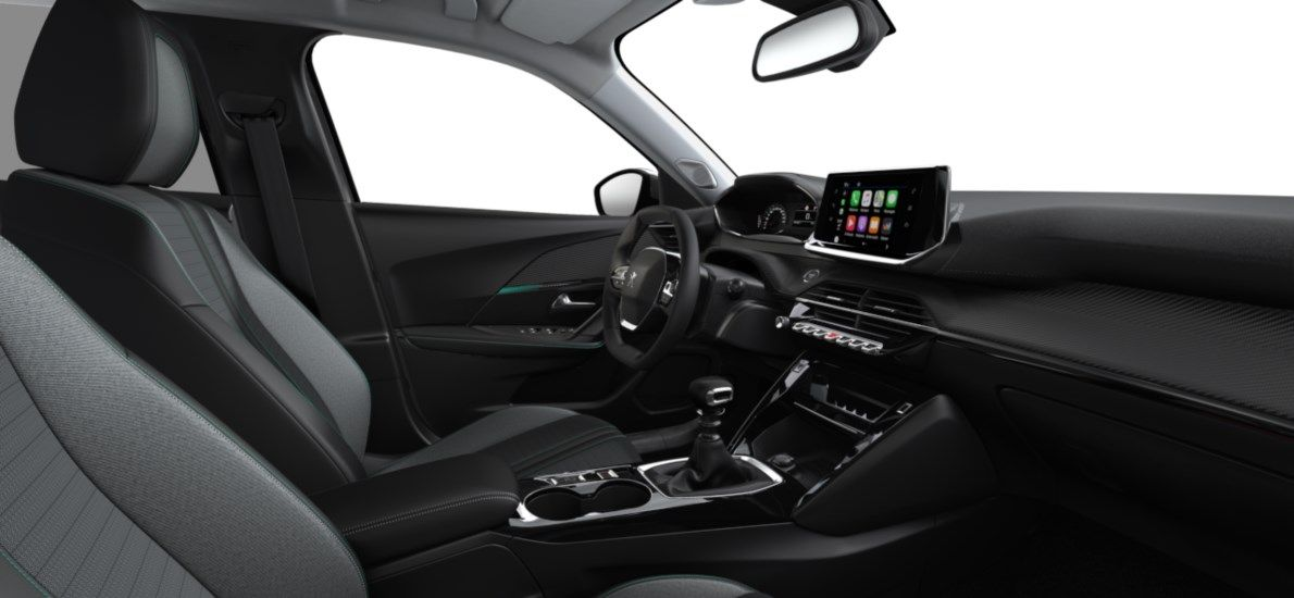 Nieuw Peugeot New 2008 SUV Allure 1.2 PureTech 130 S&S S&S Manuelle 6 vitesses Noir Perla Nera (M09V) 11