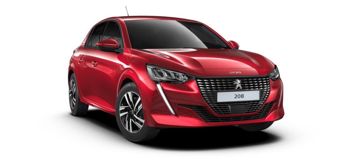 Nieuw Peugeot New 208 Berline 5 portes Allure Pack 1.2 PureTech 100ch S&S Manuelle 6 vitesses Rouge Elixir (M5VH) 1