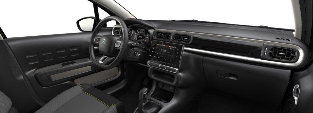 Nieuw Citroen C3 5 portes Feel. 1.2 PureTech 82 S&S BVM S&S Silky Grey (M0EU) 11