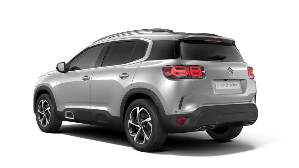 Nieuw Citroen SUV C5 Aircross SUV Feel Hybride DV5RC/UE63 1.5L DIES EAT8 Gris Platinium (M0VL) 3