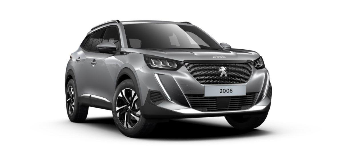 Nieuw Peugeot New 2008 SUV Allure 1.2 PureTech 130 S&S S&S Manuelle 6 vitesses Gris Artense (M0F4) 1