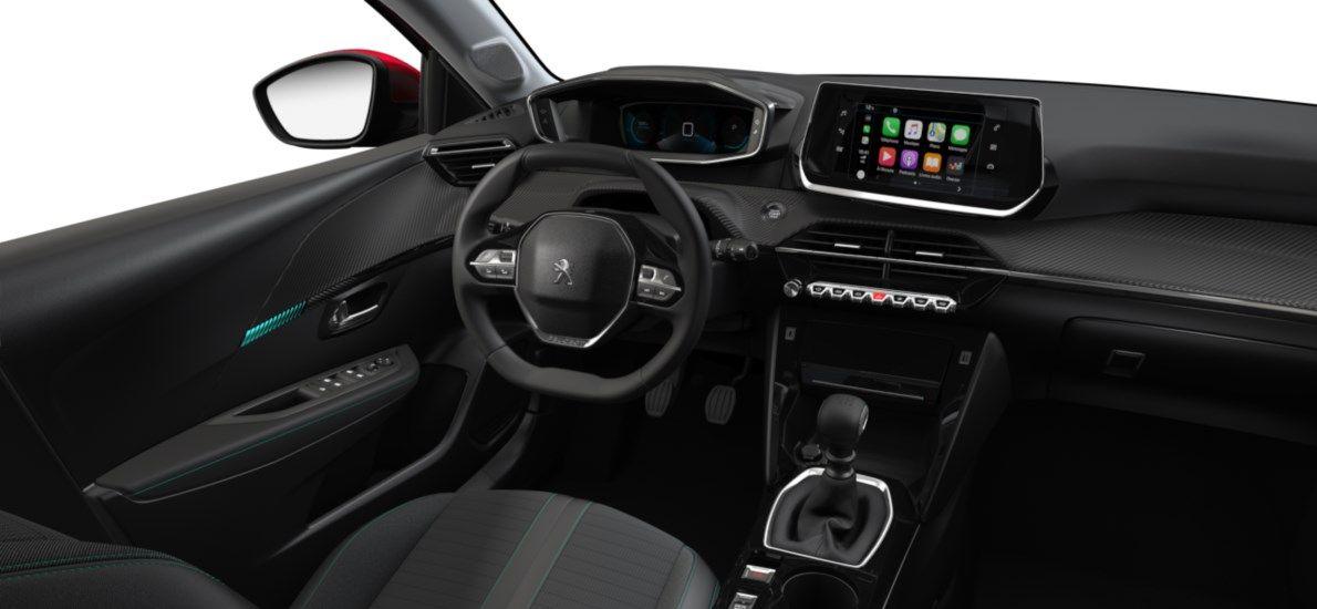 Nieuw Peugeot New 208 Berline 5 portes Allure Pack 1.2 PureTech 100ch S&S Manuelle 6 vitesses Rouge Elixir (M5VH) 10