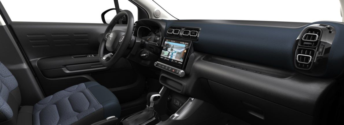 Nieuw Citroen SUV C3 Aircross BERLINE FAMILIALE Shine EB2ADTS/EU63 1200 3 EAT6 Noir Perla Nera (M09V) 11