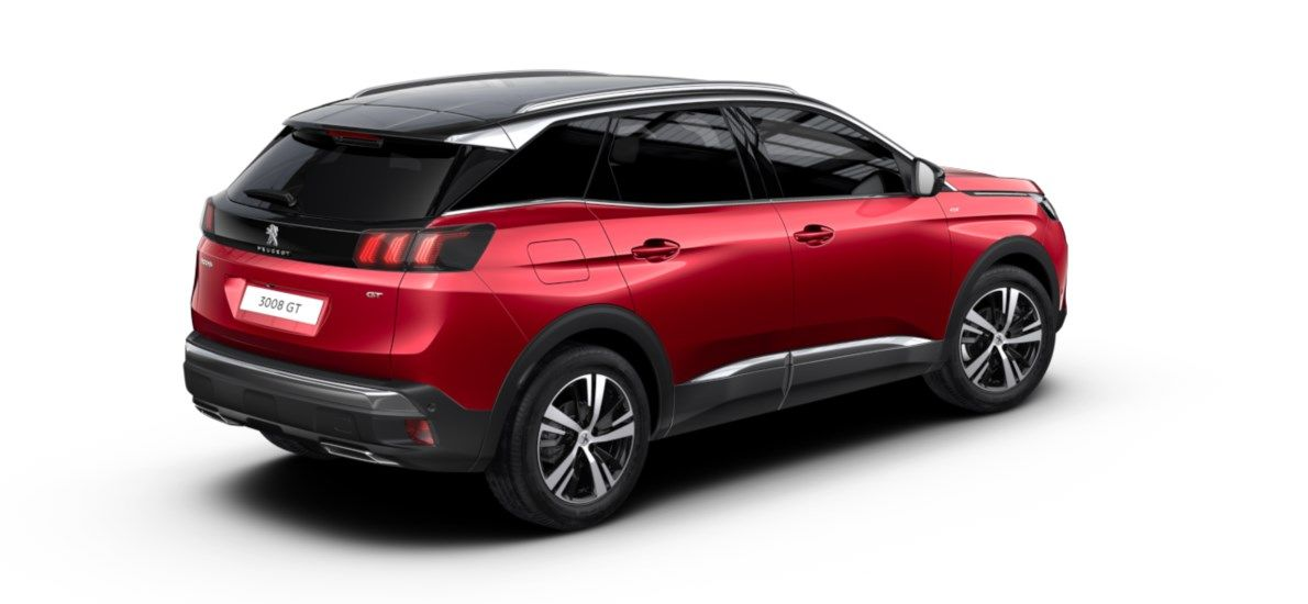 Nieuw Peugeot 3008 SUV GT 1.5 BlueHDi 130 ch EAT8 Rouge Ultimate (M5F3) 2