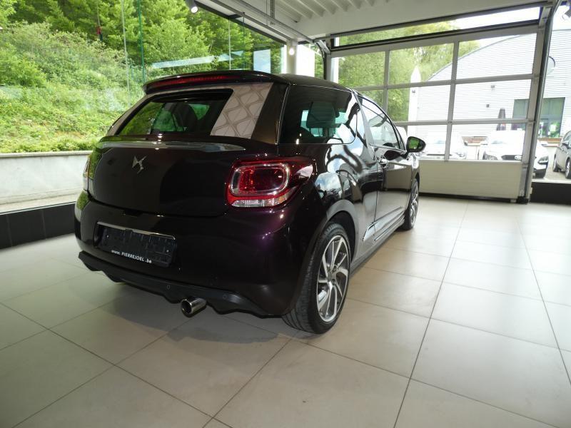 Occasie ds automobiles DS 3 Cabrio SPORT AUTO Burgundy (BURGUNDY) 9