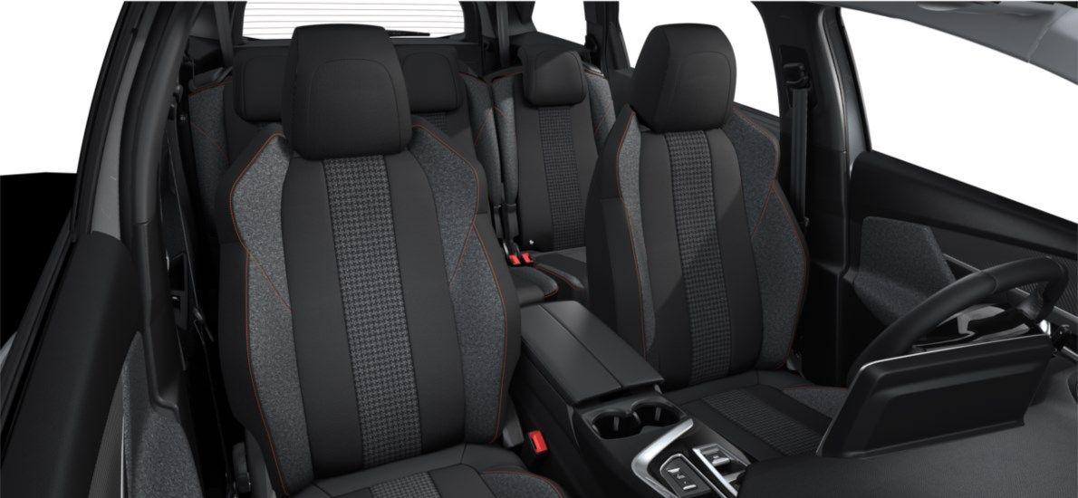 Nieuw Peugeot 5008 SUV Active Pack DV5RC/UE63 1.5L DIES EAT8 Gris Artense (M0F4) 12
