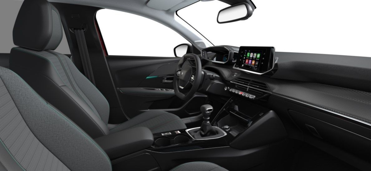 Nieuw Peugeot New 208 Berline 5 portes Allure Pack 1.2 PureTech 100ch S&S Manuelle 6 vitesses Rouge Elixir (M5VH) 11
