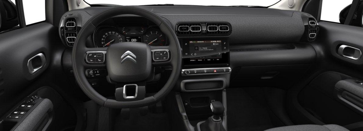 Nieuw Citroen SUV C3 Aircross BERLINE FAMILIALE MOYENNE HAUTE 1.2 PureTech 110 S&S S&S Manuelle 6 vitesses Kaki Grey (M0EM) 10
