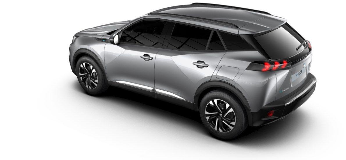 Nieuw Peugeot New 2008 SUV Allure Pack Electrique e- AUTOMATIQUE A REDUCT Gris Artense (M0F4) 4