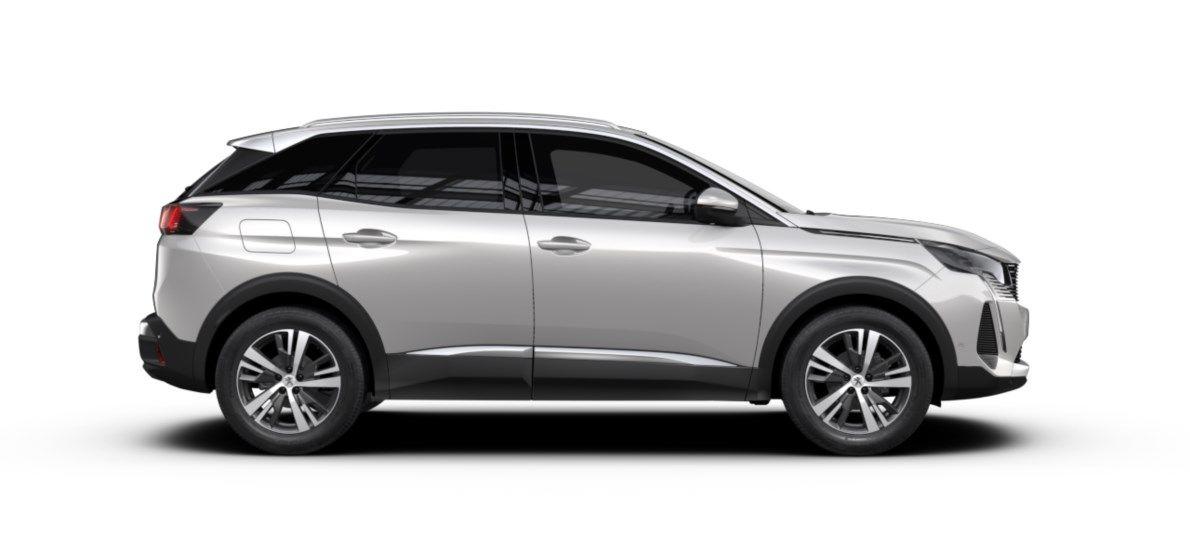 Nieuw Peugeot 3008 SUV Allure Pack 1.5 BlueHDi 130 ch EAT8 Blanc Nacré (M6N9) 4