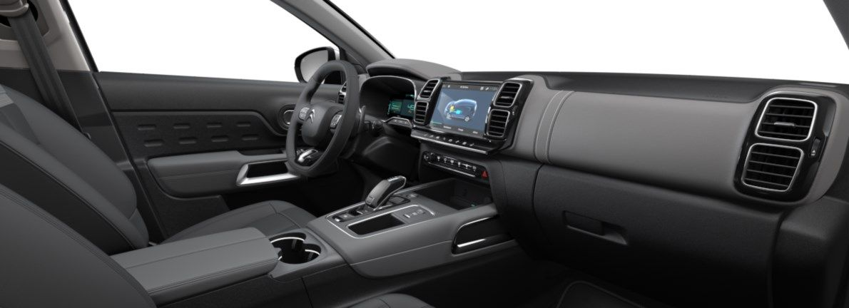 Nieuw Citroen SUV C5 Aircross SUV Shine EP6FADTXHP 1.6L ESS 4X2 AUTOMATIQUE 8 RA Gris Platinium (M0VL) 11